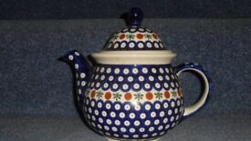 Collection of Polish Pottery (Boleslawiec) Dinnerware and Cookware / Tableware