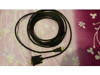 DVI To HDMI Gold CABLE LEAD Digital HD TV HDTV 3D LED LCD 5m