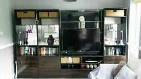 Ikea Besta storage tv unit