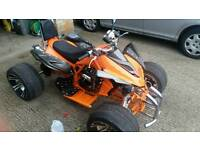 Road legal quad bike 250cc up to for sale.selling because purchased a 2nd car.