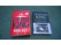 2 stephen king books