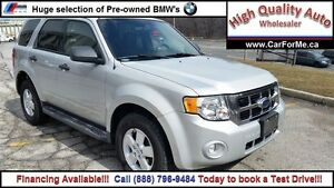 2009 Ford Escape XLT| Two to Choose from| Call  1 888 796 9484 t