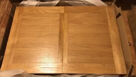 Solid Oak dining table 120x80