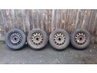 brand new pirelli & continental tyres x4 165 60 r14