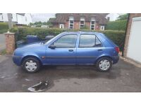 Ford Fiesta, failed MOT on bodywork and broken handbrake, 4 brand new tyers. spares and parts