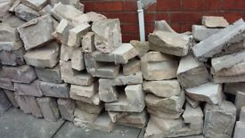 FREE TO COLLECTOR, RUBBLE/SOME BROKEN BLOCKS FROM ST3