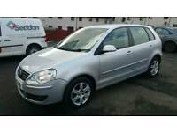 2009 VW POLO MATCH 1.2 PETROL,PARKING SENSORS,WITH PRIVATE PLATE(COST £650),ONLY 35000 MIL