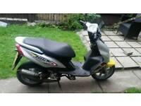 Yamaha jog rr 50cc moped scooter . Not aerox piaggio zip speedfight sym lexmoto 125cc 50cc 70cc