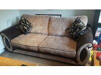 Excellent condition sofa bed for sale designed for frequent use.