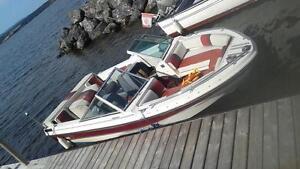 open bow speed boat $ 4900