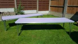 6ft party tables great for buffet or even paste tables