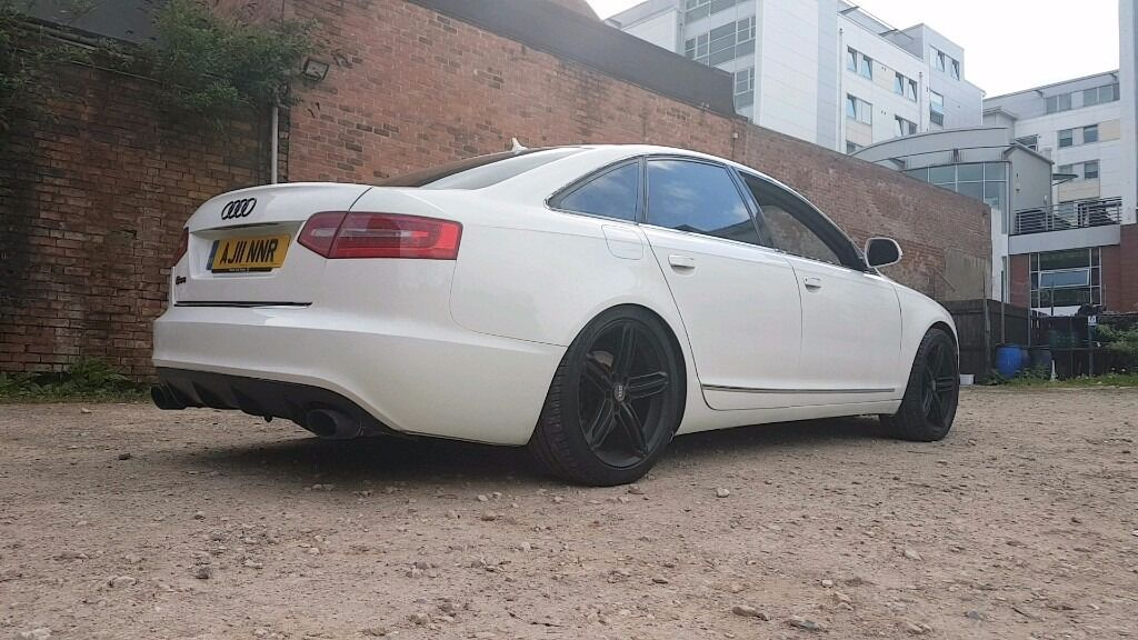 Audi A6 2011 Rs6 conversion low miles in alpine white swap sell s line