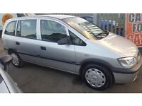 VAUXHALL ZAFIRA 1.66cc , 7 SEATER , 2 OWNERS , GOOD CONDITION , £1250