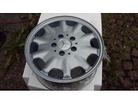 Alloy Wheels and tyres for Mercedes C class (1998 Model)
