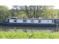 Narrow boat trad stern 2004