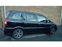 Vauxhall Zafira GSI BLACK