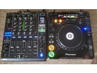 Pioneer DJM 900 Professional DJ Mixer