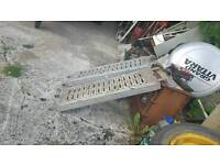 heavyduty galvanised trailer ramps novat