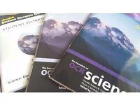 GCSE Science double award revision guides with worksheet book (OCR)