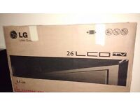"""Brand new Lg 26"""" LCD color Tv"""