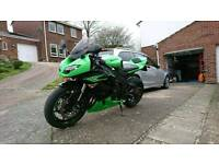 Kawasaki zx6r 2011 with extras