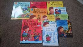 Harry and the bucketful of dinosaur book set
