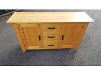 Solid Oak Sideboard Possible Delivery