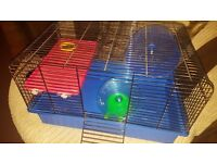 Hamster/Mouse cage with accessories