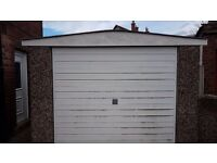 Excellent condition garage. 1st to view will take, dont miss a good opportunity