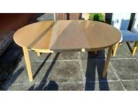 Free table and chairs