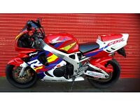 HONDA FIREBLADE 1996 LOTS OF EXTRAS FROM COOPERIZED TW13 4PA