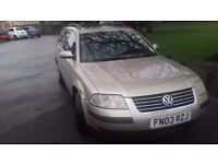 VW PASSAT 1.9 TDI ESTATE