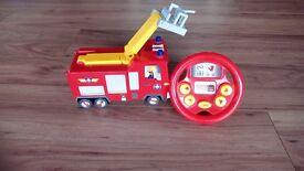 Drive & steer fireman Sam truck