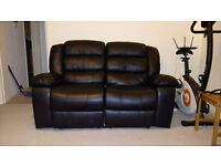 Whitfield 2-Seater Leather Reclining Sofa