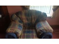 321 Tartan Sofa Suite