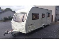 Avondale argente 550/4 berth caravan