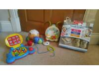 Baby monitor. Toys. ELC projector