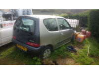 Fiat seicento spares or repairs project