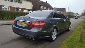 MUST SEE! Quick Sale. Mercedes Benz E Class. 1 Owner from new. Full service History. Low Mileage.