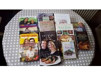 Selection of 14 Cookery Books