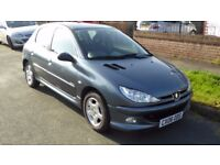 Peugeot 206 Verve manual 1.4ltr petrol, 5 door, 06 plate, FSH, One owner. Good condition throughout