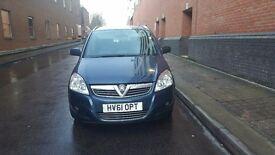 Vauxhall zafira 1.7 disel 2012