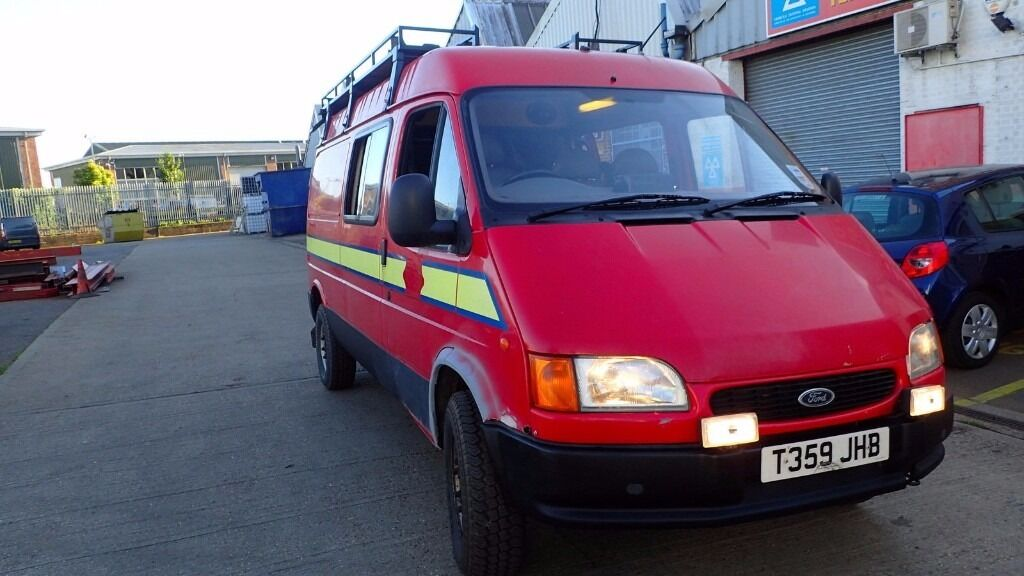 Ford Transit County 4x4 For Sale >> Ford Transit County 4x4 Mk4 Ex Fire Service Smiley Front 150 Td Lwb