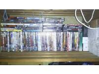 A good mix-selection of dvd films