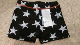2x new with tags swimming trunks age 2 years and 5 years