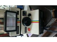 Polaroid land camera with flash, full working order