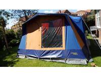 Suncamp Residence 6 Canvas Frame tent