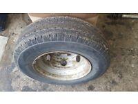 LDV Convoy Wheel with Tyre 185R 14C