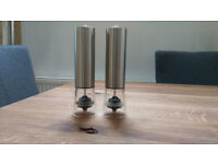 Battery Operated Salt and Pepper Mills