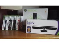 Xbox 360, Kinect and games - open to offers as bundle or individual